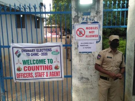 Hyderabad GHMC polls results live: Telangana HC suspends SEC circular on validating ballot papers
