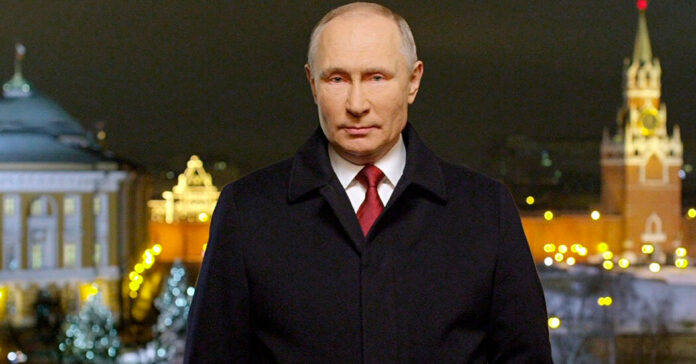 'Not everyone is at the New Year's table now': Putin laments the virus's grip on Russia.