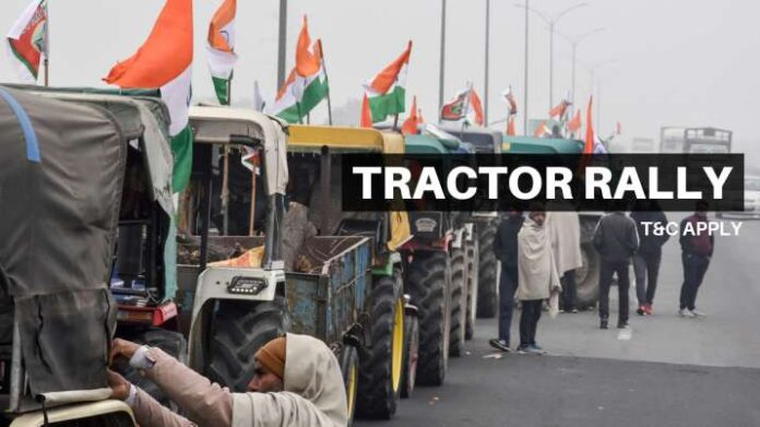 5 hours, 5000 tractors, 5000 people: Delhi Police sets