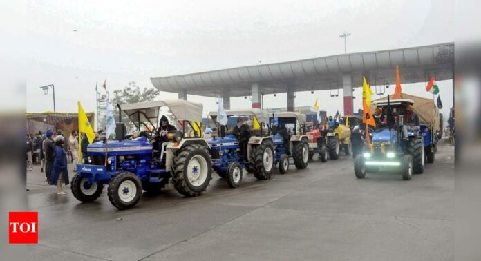 Delhi Police allows farmers' tractor rally in capital on Republic Day but with conditions: Top 10 developments | India News - Times of India