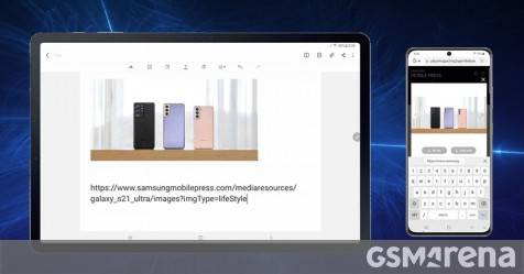 One UI 3.1 update for Galaxy Tab S7 and S7+ makes them better at working with your phone and laptop