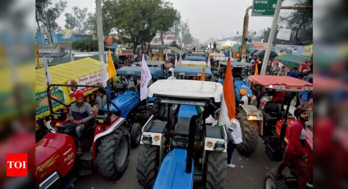 Tight security for tractor parade on Republic Day, farmers to hold rally to Parliament on Budget day: 10 key developments   India News - Times of India