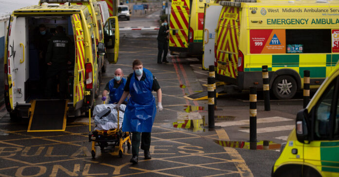 With Hospitals Nearly Overwhelmed, Britain Faces Harder Days