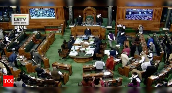 Lok Sabha adjourned repeatedly over farm laws: Top 10 developments   India News - Times of India