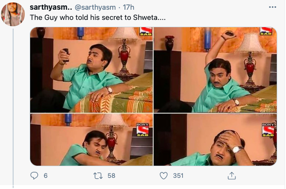 Shweta memes break the internet. Here's why the girl's name is trending