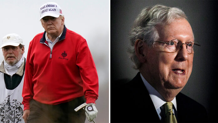 Trump blasts McConnell as a 'hack' who lacks 'political insight'