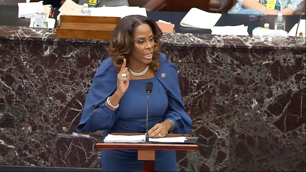 Stacey Plaskett Is 1st Nonvoting House Delegate To Argue An Impeachment Trial