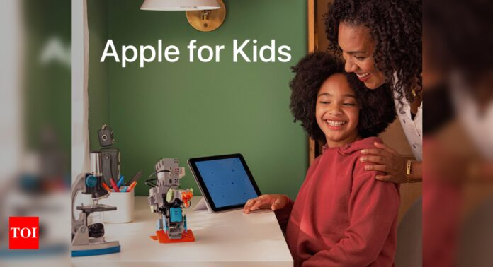 Apple launches new website to help parents manage what their kids do on iPhone, iPad - Times of India