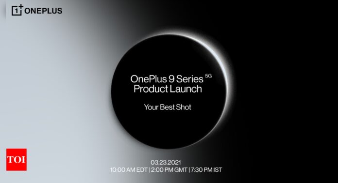 OnePlus 9 series confirmed to launch on March 23 - Times of India