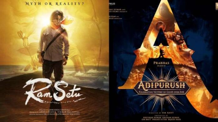Ram Setu to Adipurush, mega film projects inspired by Ramayan and Mahabharat