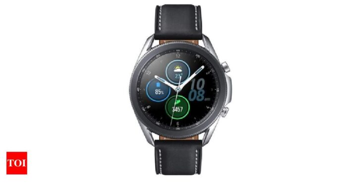 Samsung may launch Galaxy Watch 4, Watch Active 4 with blood glucose monitor ahead of Apple Watch 7 - Times of India