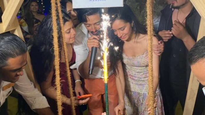 Shraddha Kapoor celebrates birthday with rumoured beau Rohan Shrestha and her family in Maldives
