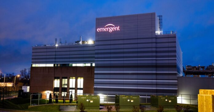 Emergent BioSolutions temporarily shutters its Baltimore plant, where J.&J. doses were ruined, at the F.D.A.'s request.