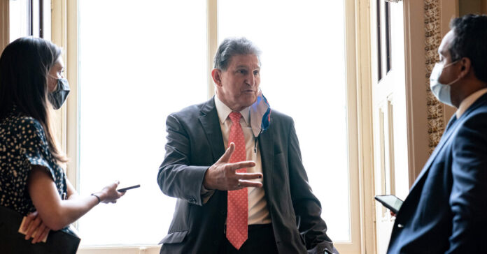 Joe Manchin says there is 'no circumstance' in which he would back weakening the filibuster.