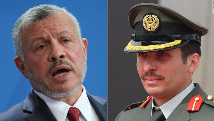 Jordan's former crown prince signs letter agreeing to support the King
