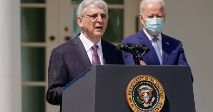 Merrick Garland vows to combat domestic extremism as he commemorates the 1995 Oklahoma City bombing.