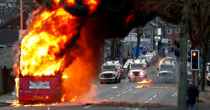 Northern Ireland Sees Spasm of Violence as Old Tensions Resurface
