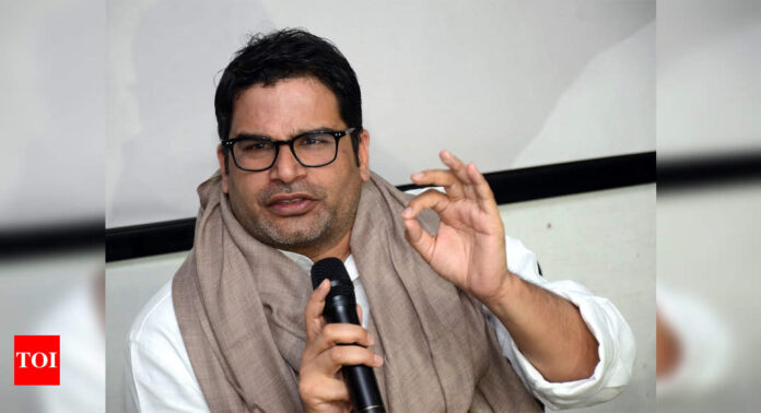 Prashant Kishor's leaked audio chat increases political temperature in Bengal, TMC hits out at BJP | India News - Times of India
