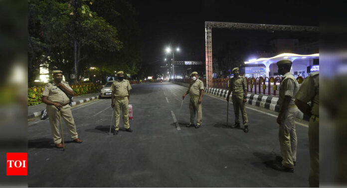 Several states impose lockdown, night curfew to curb Covid-19 | India News - Times of India
