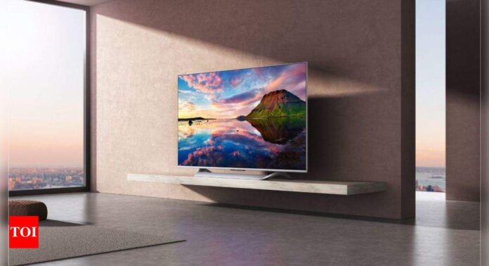 Xiaomi launches Mi QLED TV with 75-inch screen and Android 10 TV at Rs 1,19,999 - Times of India