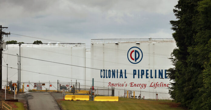Biden will speak about the Colonial Pipeline cyberattack.