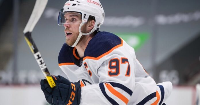 Connor McDavid hits 91 points as Edmonton Oilers clinch playoff spot