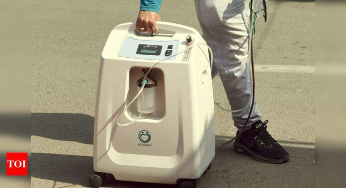 Covid-19: Oxygen shortage sparks hunt for $1,000 machines   India News - Times of India