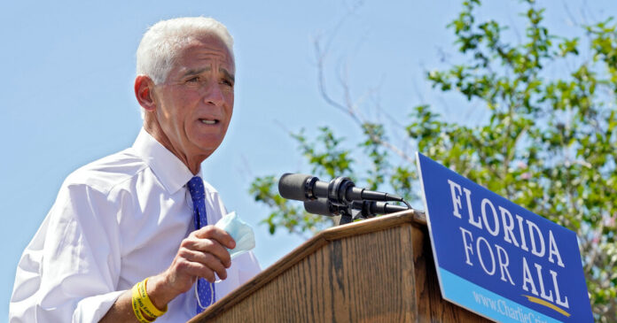 Crist Enters Race to Face DeSantis, With More Democrats Likely to Follow