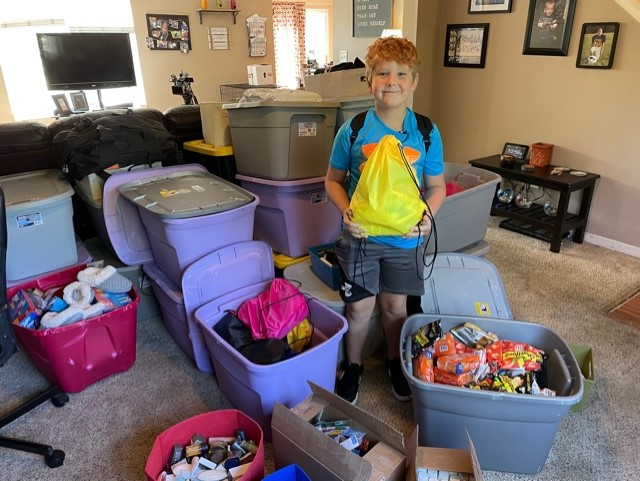 Fishers boy hopes to give the homeless 3,000 blessing bags - WISH-TV | Indianapolis News | Indiana Weather | Indiana Traffic