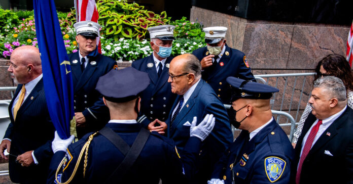 Giuliani's Legal Bills Are Growing. His Allies Want Trump to Pay Them.