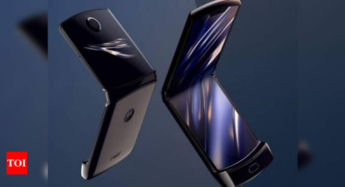 Motorola's foldable phone Moto Razr selling at its lowest price ever - Times of India