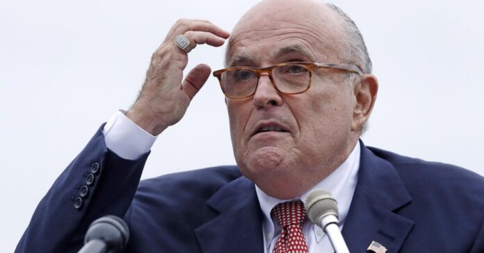 Op-Ed: Rudy Giuliani's outrage is the refuge of a scoundrel