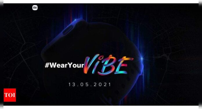 Redmi smartwatch teased online, will come with built-in GPS and guided breathing feature - Times of India