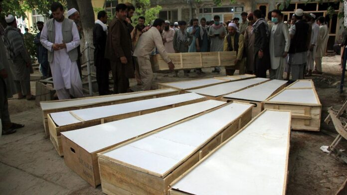 At least 10 killed in attack on Afghanistan mine-clearing workers