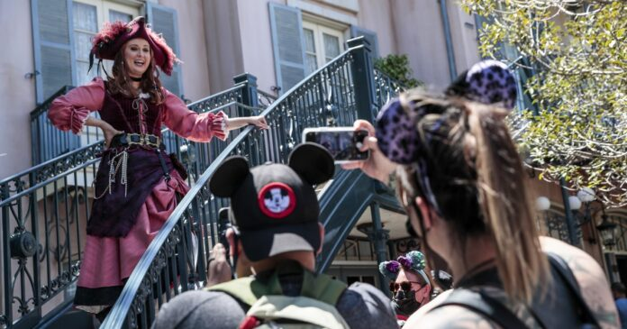 Disneyland won't be locals only for long. Navigating the reduced-capacity lines
