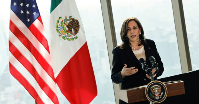 Facing mounting pressure, Harris will travel to the southern border Friday.