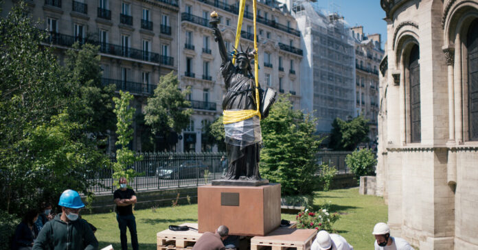 France Sends the U.S. Another, Smaller Statue of Liberty
