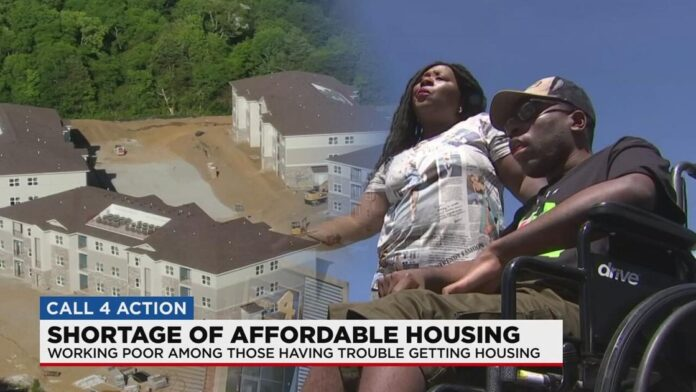 Homeless mother, special needs son wait months for affordable housing