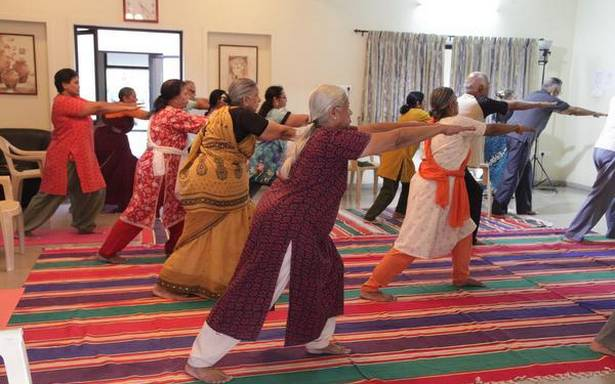 India's seniors brave the pandemic creatively