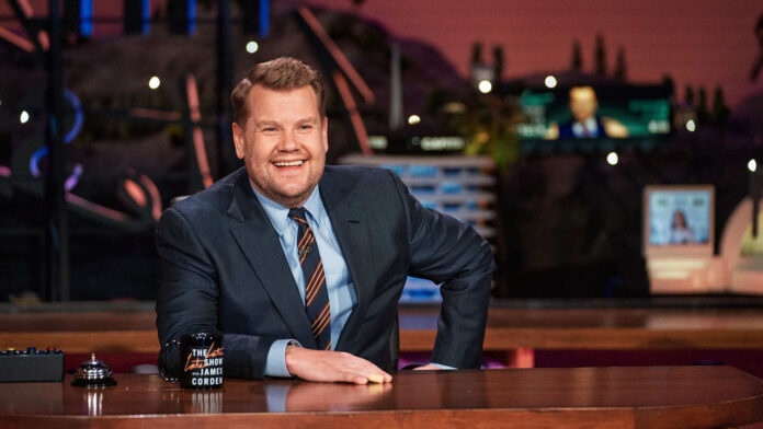 James Corden facing backlash after petition labels show's 'Spill Your Guts' segment 'culturally offensive'
