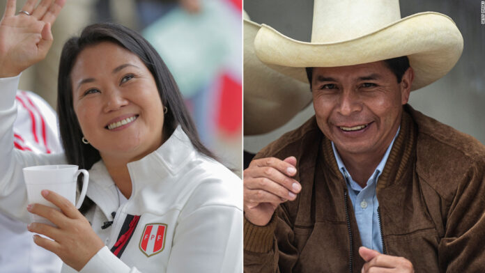 Peru's presidential election is too close to call