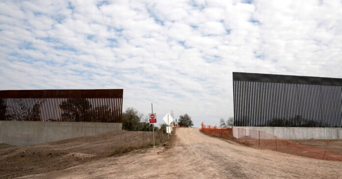 Texas Says It Will Build Border Wall With Mexico