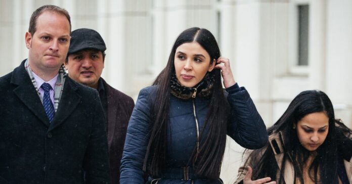 Wife of El Chapo Pleads Guilty to Helping Run His Drug Empire