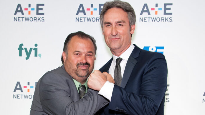 'American Pickers' star Frank Fritz says he hasn't spoken to Mike Wolfe in two years: 'That's just how it is'