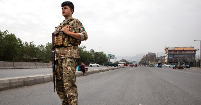 U.S. military official says a 'complete Taliban takeover' is possible in Afghanistan.