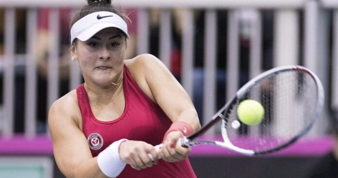Bianca Andreescu learning from 2021 disappointment, hoping to bounce back on hardcourt    Globalnews.ca