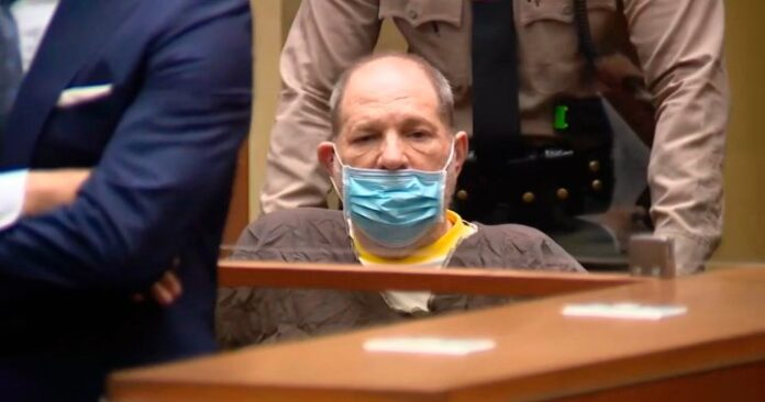 Harvey Weinstein pleads not guilty as he awaits 2nd trial in California - National | Globalnews.ca
