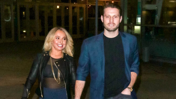 Hayden Panettiere hangs out with ex Brian Hickerson after his jail stint