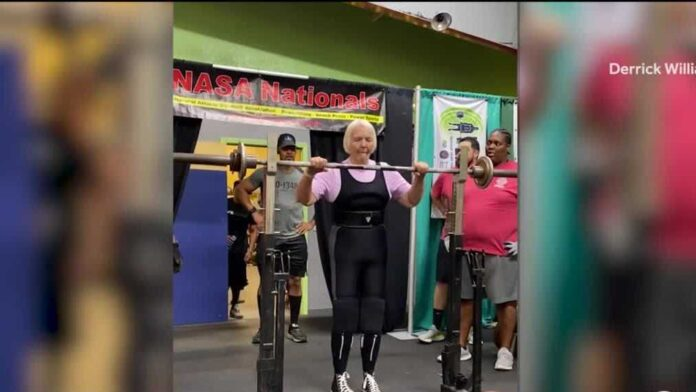 'I can hardly wait to do it again': 78-year-old sets 4 records in powerlifting competition