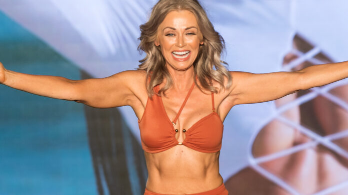 SI Swimsuit's oldest model Kathy Jacobs, 57, is not intimidated by younger gals